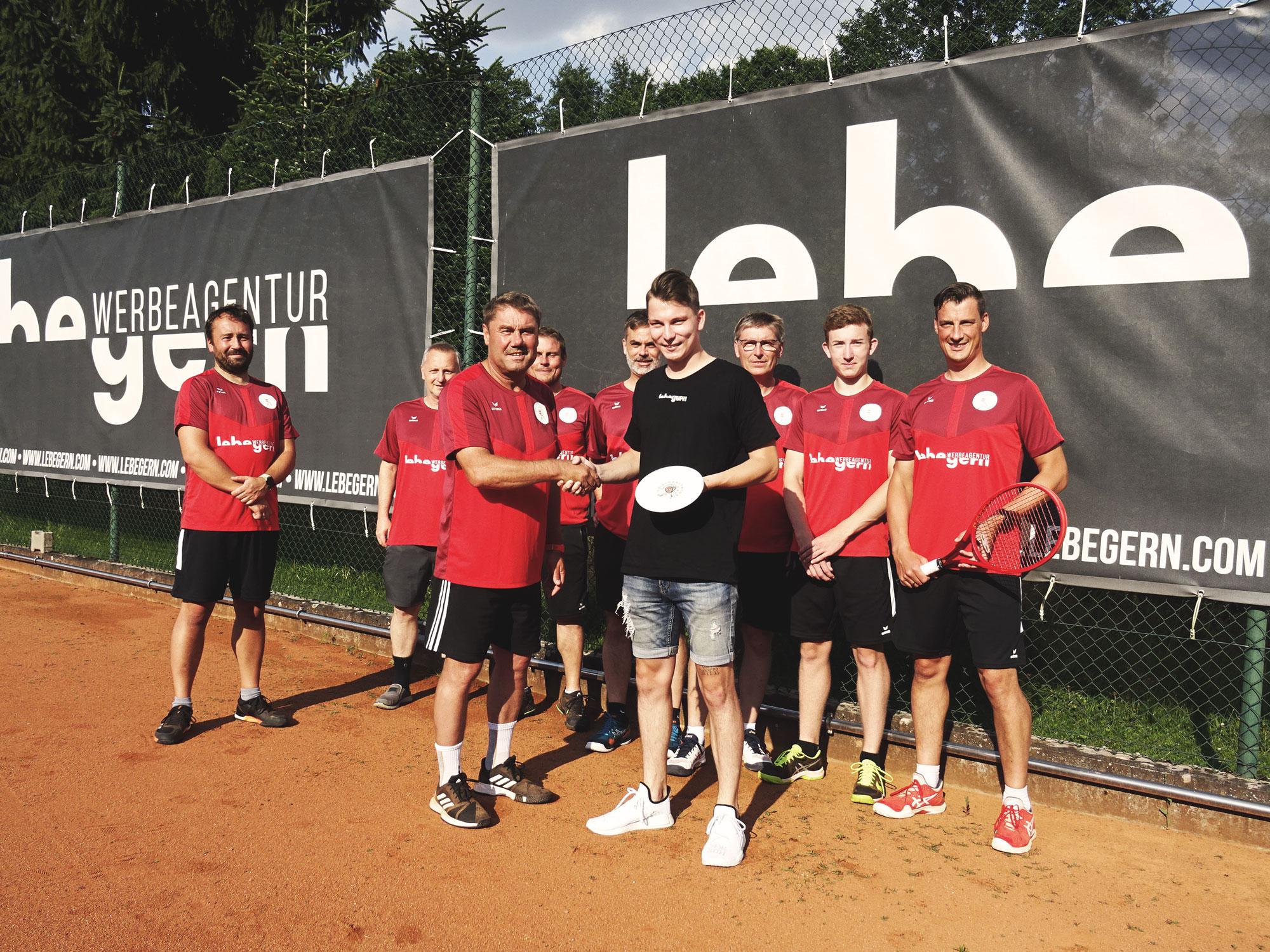 Werbeagentur Lebegern unterstützt Tennisclub Windischeschenbach